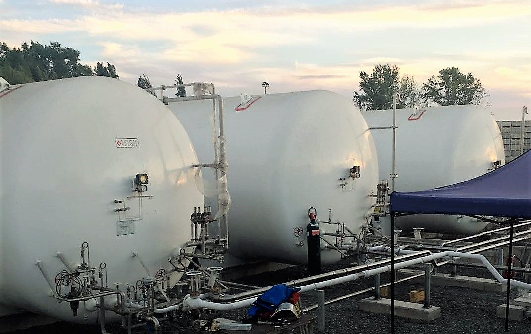 DELIVERED THE FIRSTS GNL TANKS FOR CHILE
