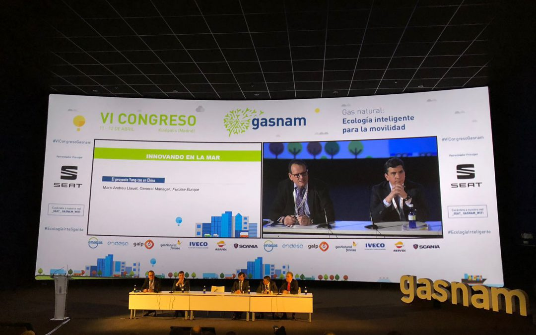 FURUISE, at the VI Gasnam Congress, presents the advances of LNG as fuel in the river sector