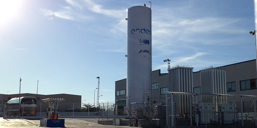 Cryogenic Tanks for Liquefied Natural Gas (LNG) - Furuise Europe