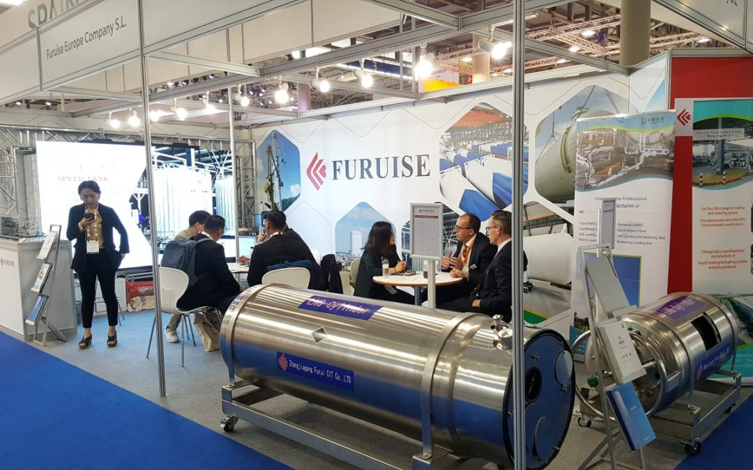 Furuise in Gastech 2018 in Barcelona